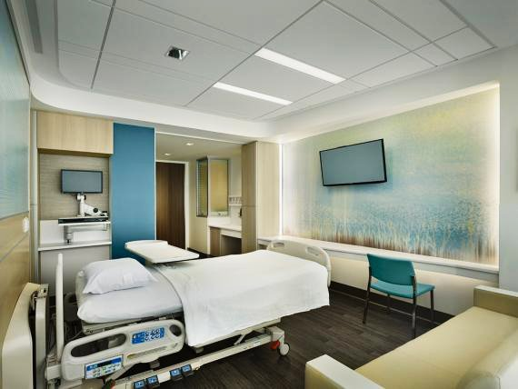 Nicest Hospital Rooms